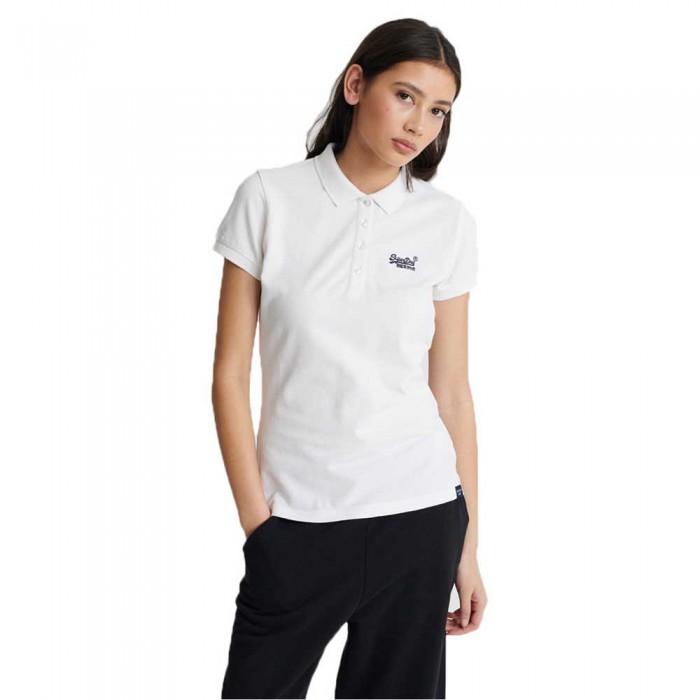 [해외]슈퍼드라이 폴로 셔츠 Chalk White