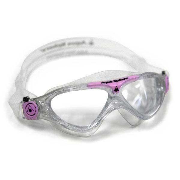 [해외]아쿠아스피어 Vista Junior Glitter / Pink Clear