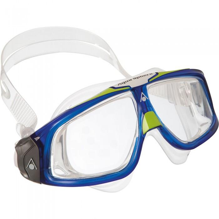 [해외]아쿠아스피어 Seal 2.0 다크 Lenses Clear / Blue