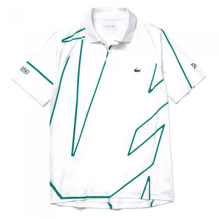 [해외]라코스테 스포츠 X 노vak Djokovic 프린티드 Breathable White / Green
