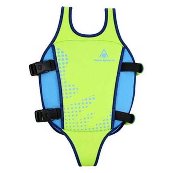 [해외]아쿠아스피어 Swim Vest 6136186990 Green / Blue