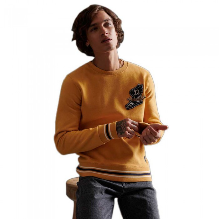 [해외]슈퍼드라이 Contempy 바서티 Chenielle Golden Yellow