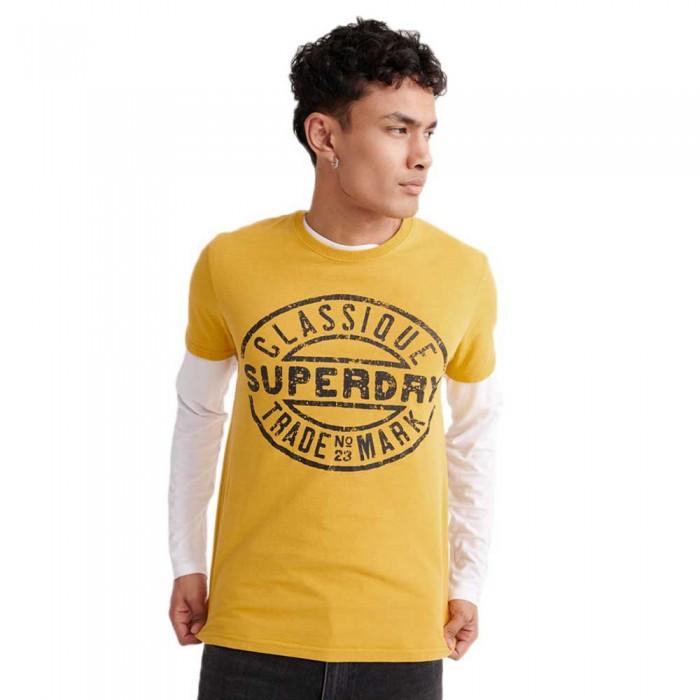 [해외]슈퍼드라이 Workwear Trademark Dry Nugget Gold