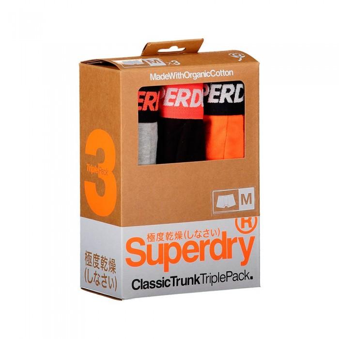 [해외]슈퍼드라이 Classic Trunk 3 팩 Orange Multipack