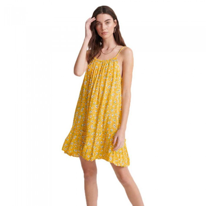 [해외]슈퍼드라이 Daisy 비치 Yellow Floral