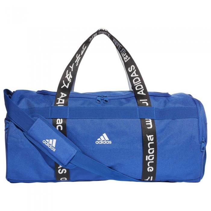 [해외]아디다스 4 Athletes Duffle M 35L Royal Blue / Black / White