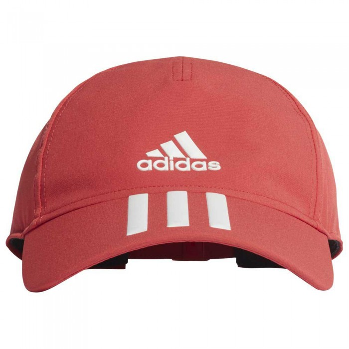 [해외]아디다스 베이스볼 3 스트라이프s 4 Athletes 에어로ready Glory Red / White / White