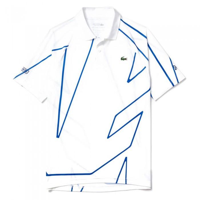 [해외]라코스테 스포츠 X 노vak Djokovic 프린트ed Breathable White / Blue