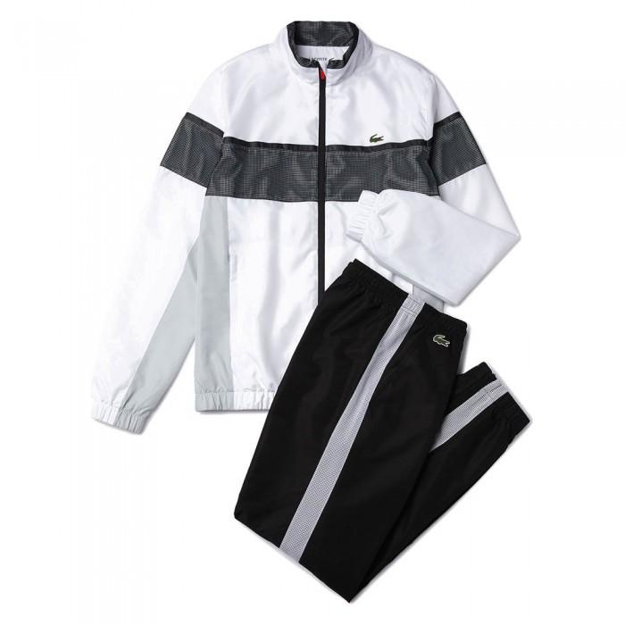 [해외]라코스테 스포츠 Taffeta And 저지 White / Light Grey / Black / Red