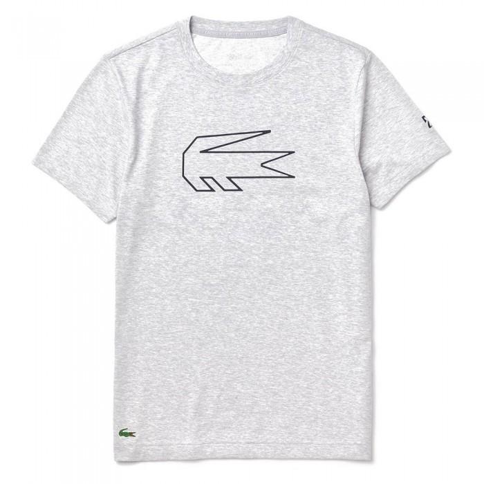 [해외]라코스테 스포츠 X 노vak Djokovic Crocodile 프린트 Grey Chine / Navy Blue