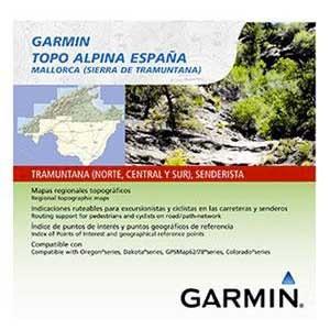 [해외]가민 탑o Alpina Spain 마이크로 SD Sistema Central