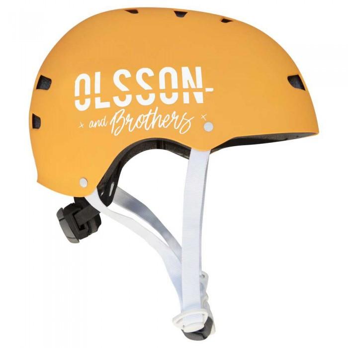 [해외]OLSSON 헬멧 Adult Orange