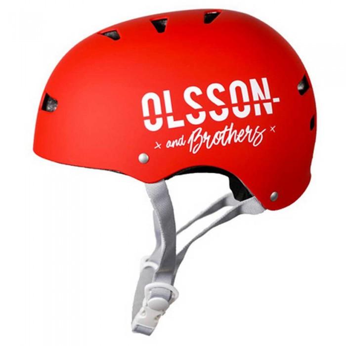 [해외]OLSSON Helmet Child 14137520782 Red