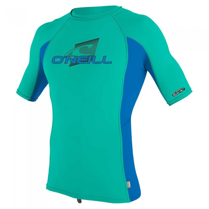 [해외]오닐 웻슈트 Youth 프리미엄 스킨스 Rash Guard Baltic Green / Ocean / Baltic Green
