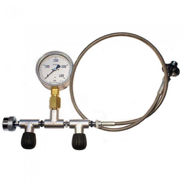 [해외]METALSUB Oxygen Equalizer NEVOC W30x2 Connector To DIN 200/300 위드 플로우 Control Steel / Bronze / Black