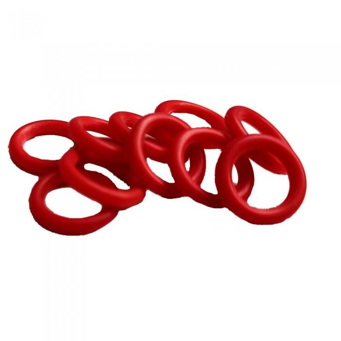[해외]시갈섭 O Ring For Single Barb 10 Pieces 10137387469 Red