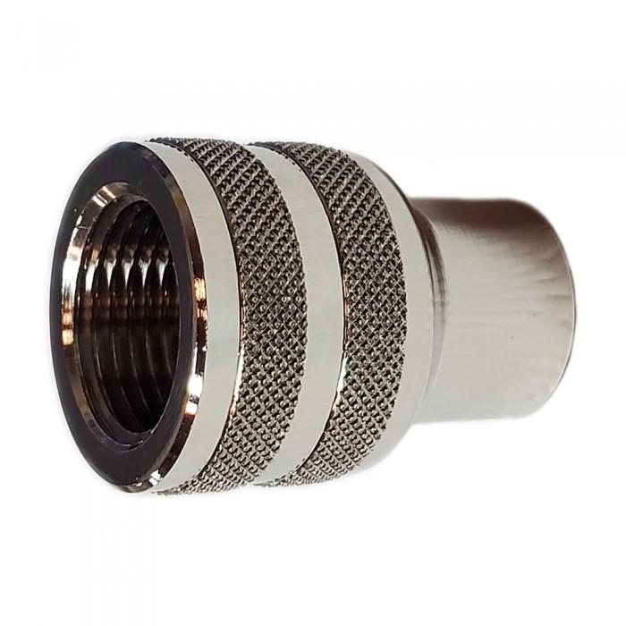 [해외]METALSUB DIN300 Female To 1/4´´ Female Adapter 10137502763 Silver