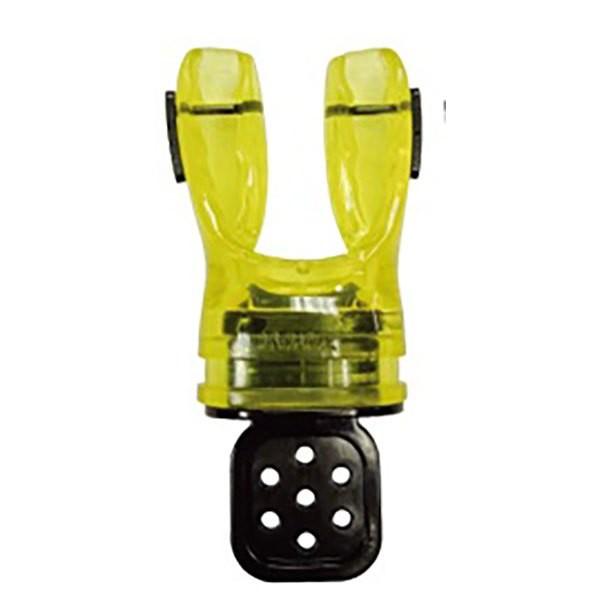 [해외]DE PROFUNDIS Anatomic Preformable Mouthpiece Clear / Yellow