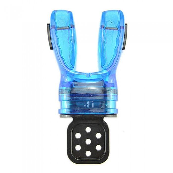 [해외]DE PROFUNDIS Anatomic Preformable Mouthpiece Clear / Blue