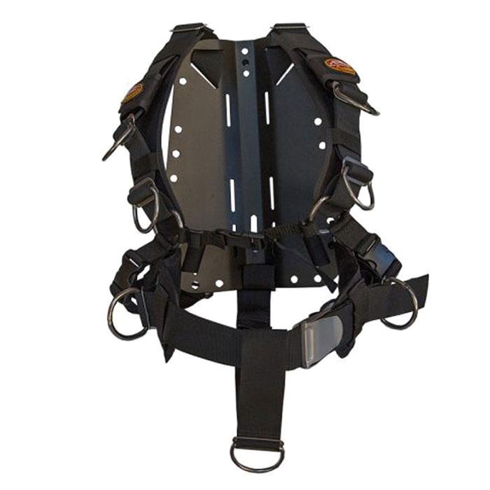 [해외]AMPHIBIAN GEAR 테크 Harness Aluminium Black