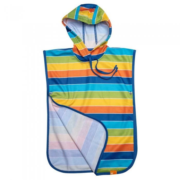 [해외]iQ-Company UV 50+ Poncho Stripes Kids 10137425924 Rainbow