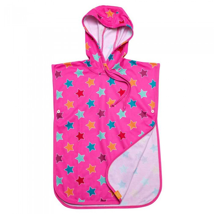 [해외]iQ-Company UV 50+ Poncho Stripes Kids 10137425925 Pink