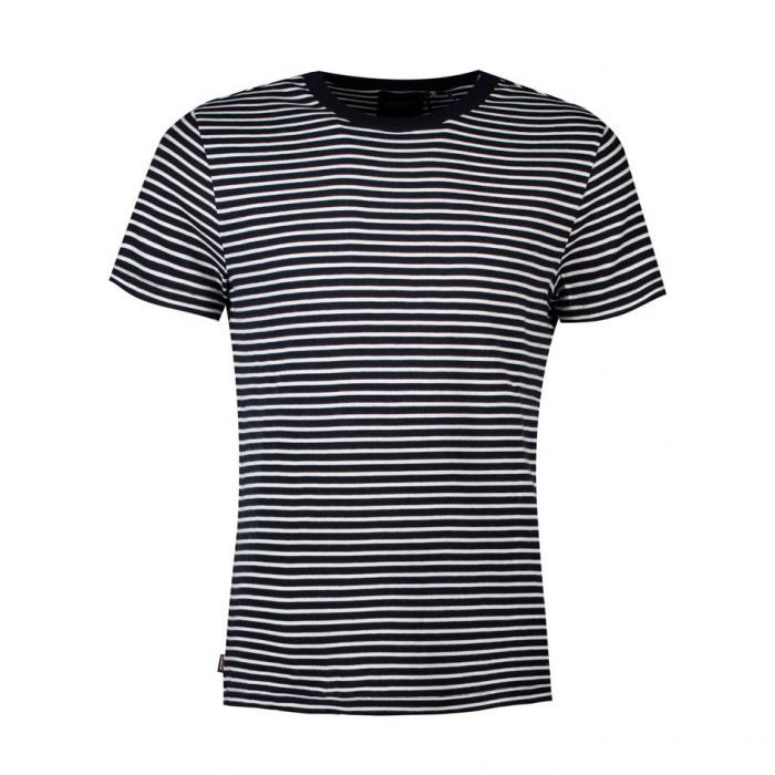 [해외]슈퍼드라이 에디트 Pima Dark Navy Stripe