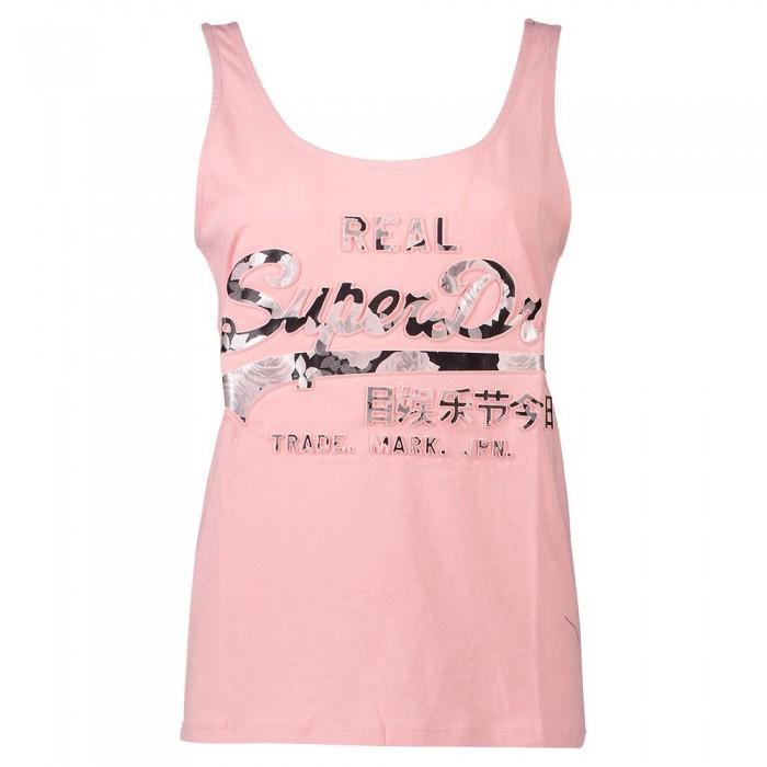[해외]슈퍼드라이 빈티지 로고 포토 로즈 Classic Soft Pink
