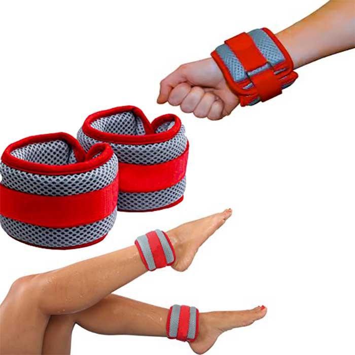 [해외]OLOGY Aquatic Bracelet Wrist/Ankle 6137502943 Red / Grey