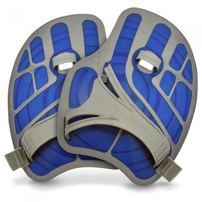 [해외]펠프스 Ergoflex Swimming Paddles 6137478433 Blue / Grey