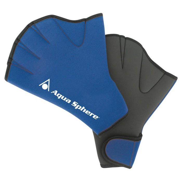 [해외]아쿠아스피어 Swim Gloves 6137492379 Blue