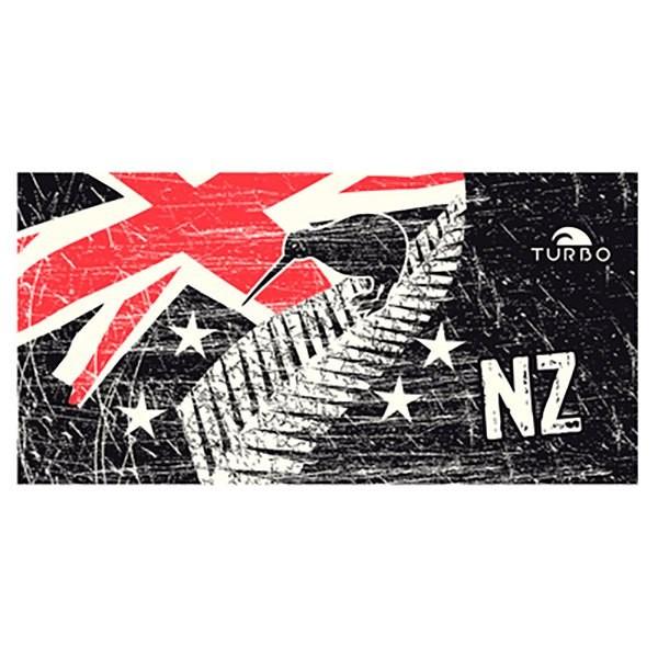 [해외]터보 마이크로fiber 타월 뉴 질란드 빈티지 Black / White