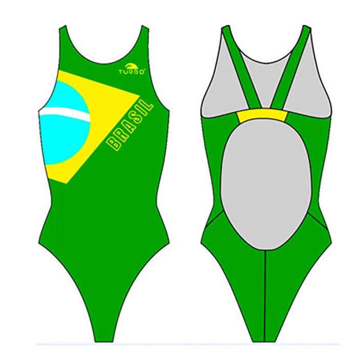 [해외]터보 브라질 Flag Proresist Green/Yellow