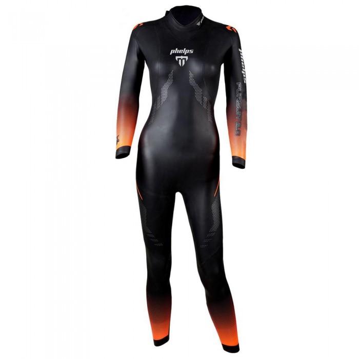 [해외]펠프스 Pursuit 2.0 4 mm 6137478218 Black / Bright Orange
