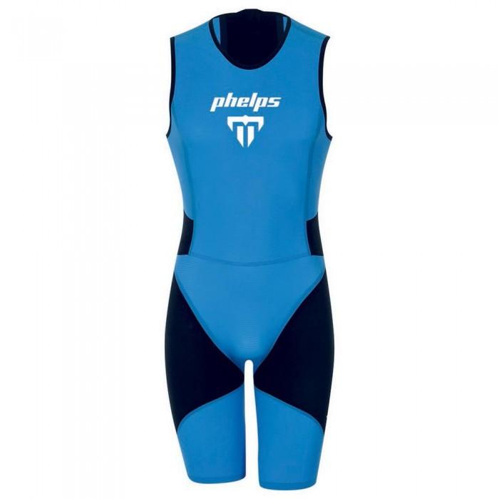 [해외]PHELPS Phantom Speed-Suit Black / Royal Blue