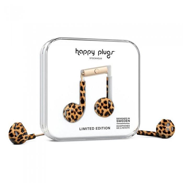 [해외]HAPPY PLUGS Earbud Plus Wired Leopard