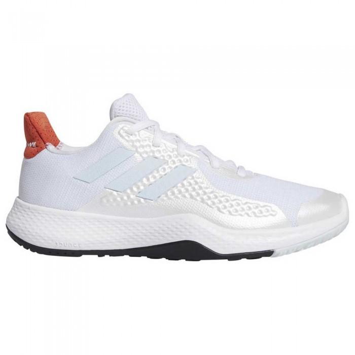 [해외]아디다스 피트bounce 트레이너 Footwear White / Sky Tint / Glory Amber