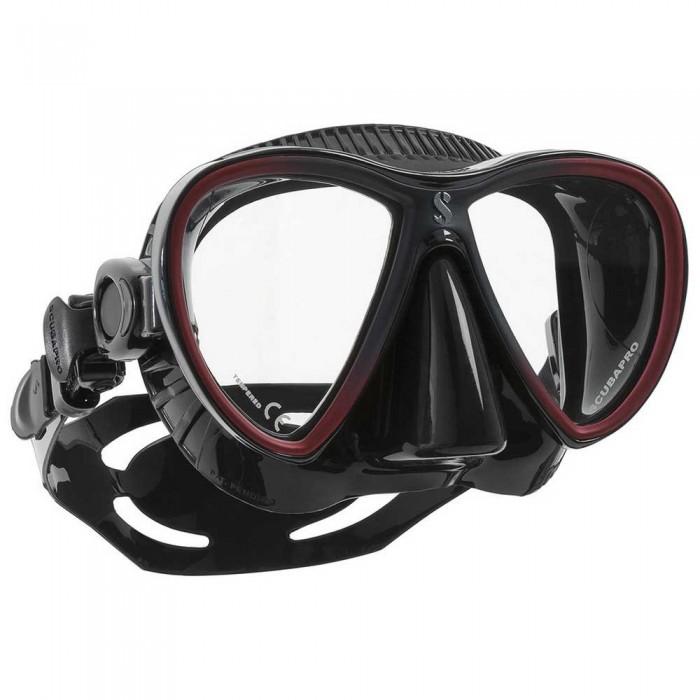 [해외]스쿠버프로 Synergy Twin Trufit 10137525055 Black / Red