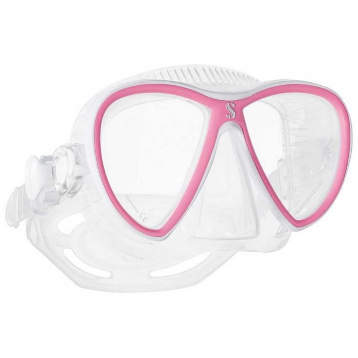 [해외]스쿠버프로 Synergy Twin Trufit 10137525058 Clear / Pink