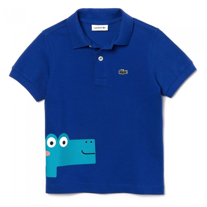 [해외]라코스테 Crocodile 프린트 Blue