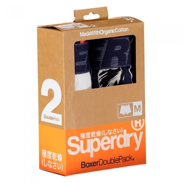 [해외]슈퍼드라이 복서 2 팩 White Multipack
