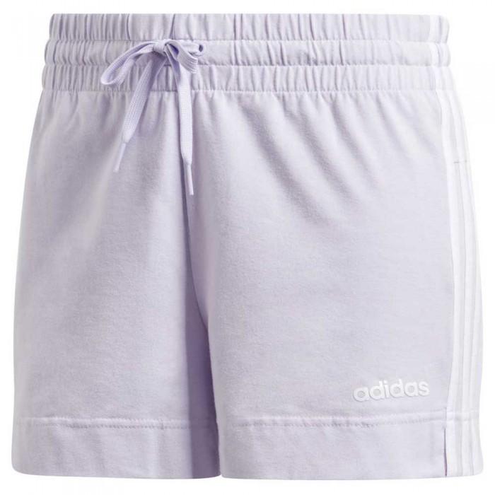 [해외]아디다스 에센셜s 3 스트라이프s Purple Tint / White