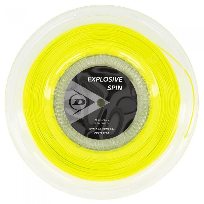 [해외]던롭 St Explosive Spin 200 m Yellow