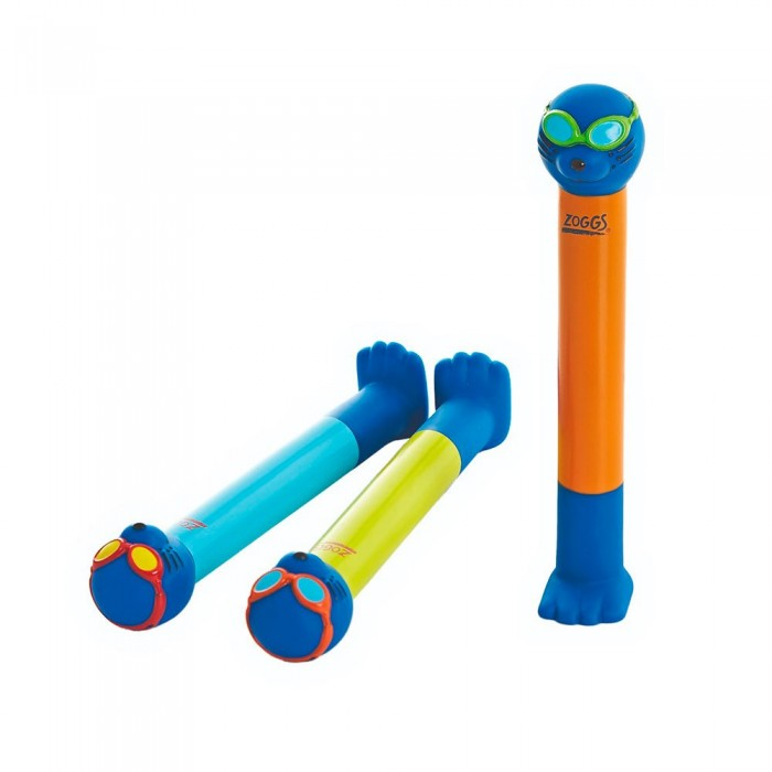 [해외]조그스 Zoggy Dive Sticks Junior 6137327393 Blue / Lime / Orange