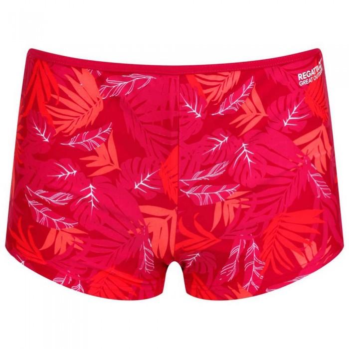[해외]레가타 Aceana Short 6137028980 Dark Cerise Tropical
