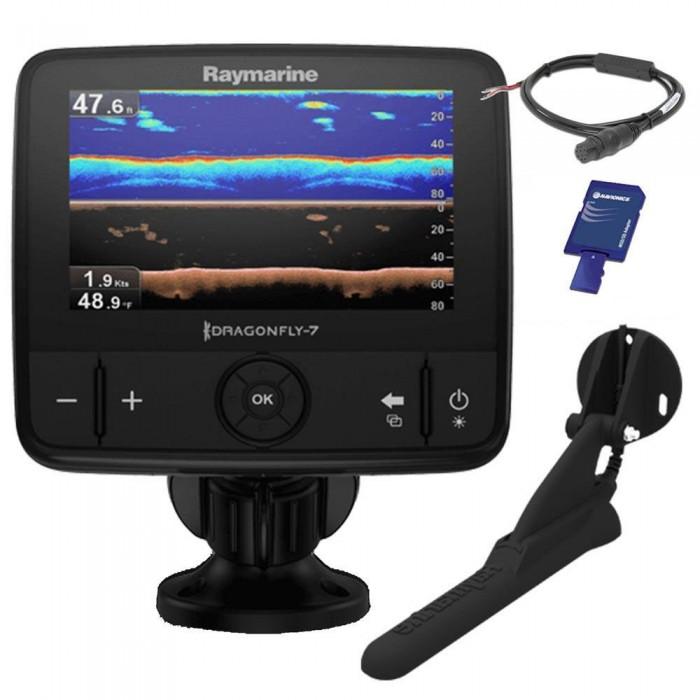 [해외]RAYMARINE 드래곤fly 7 Pro Downvision With Navionics EMEA 136694837 CPT-DVS