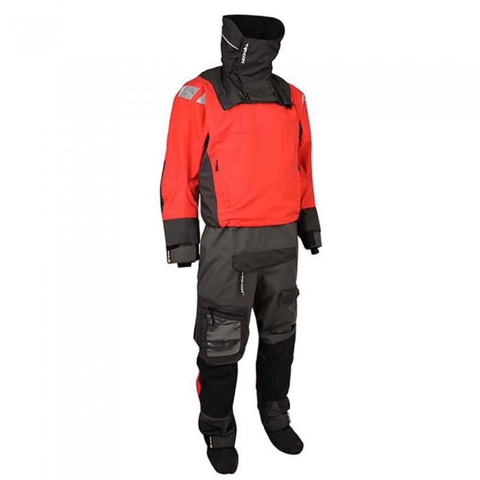 [해외]TYPHOON PS 440 Hinge Wiht Boots 137478840 Black / Red