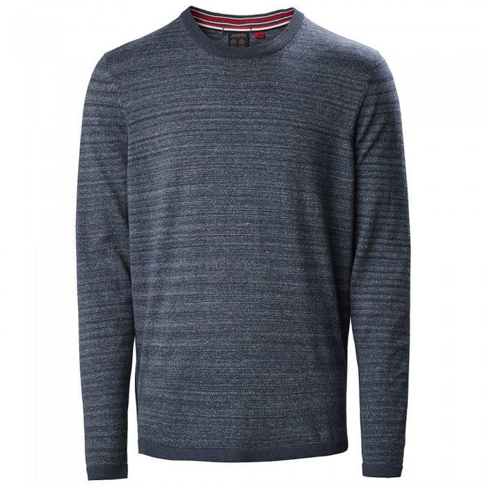 [해외]무스토 Amalgam Crew Knit 137381463 True Navy / White