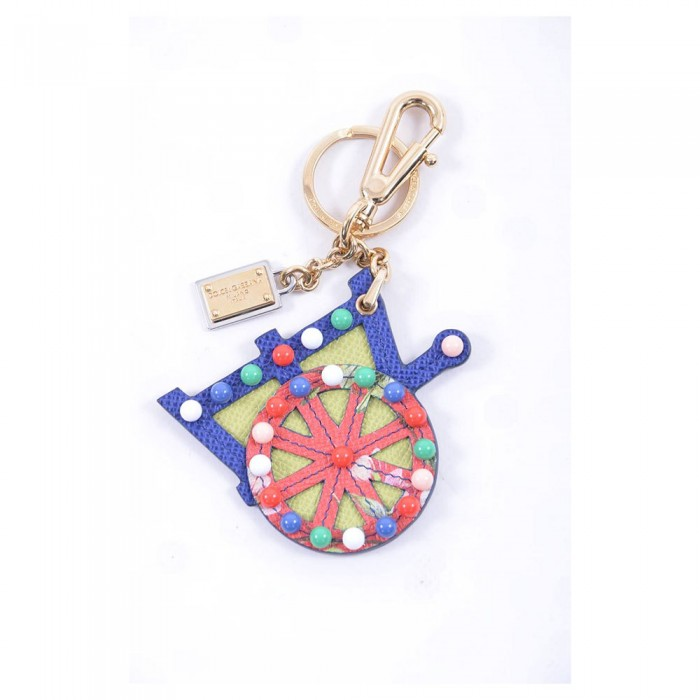 [해외]돌체앤가바나 712906/Carretto Keychain Navy Blue