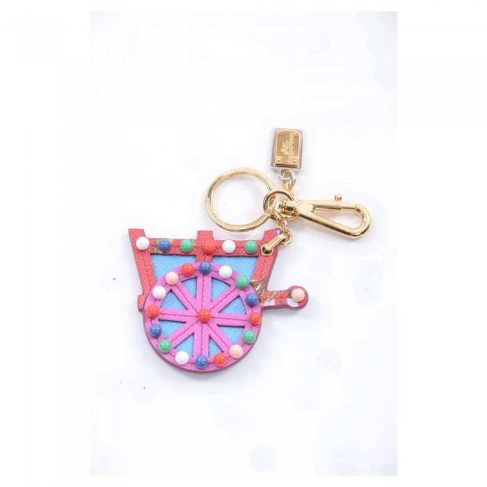 [해외]돌체앤가바나 730156/Carretto Keychain Dark Pink